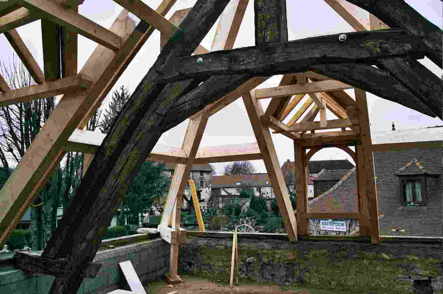 monument historique restauration d 39 habitat l 39 arbre l 39 trier. Black Bedroom Furniture Sets. Home Design Ideas